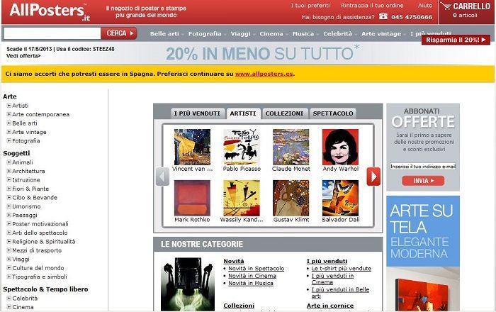 Sconto Allposters