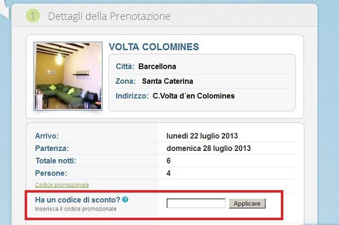 codice sconto only-apartments